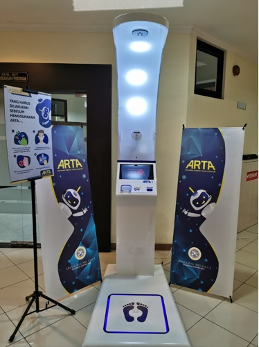 ARTA : Airlangga Robotic Triage Assistant