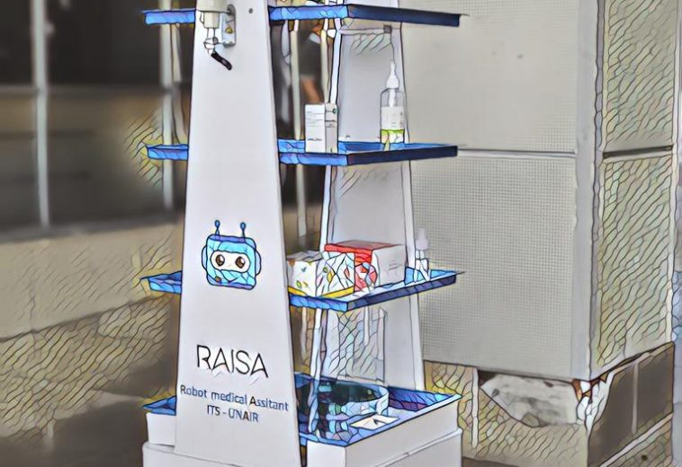 Fighting COVID19, by concepting a Robotic Assistant (RAISA) in RSUA